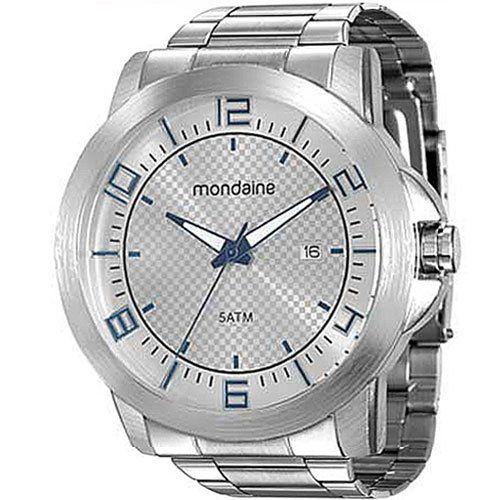 Relógio Mondaine Prata 94901G0MVNE1 Masculino
