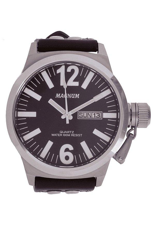 Relógio Magnun Prata MA31524V Masculino