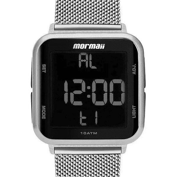 Relógio Mormaii Prata MO6600AK/7K Unissex