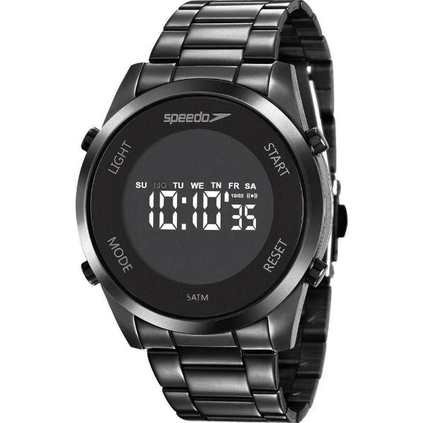 Relógio Preto Speedo Feminino 24873lpevpe2
