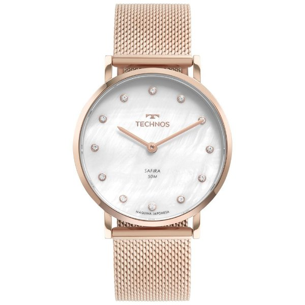 Relógio Technos Slim Rosé 2025LTV/1B Feminino