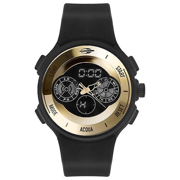 Relógio Anadigi Mormaii MO160323AN8D Masculino