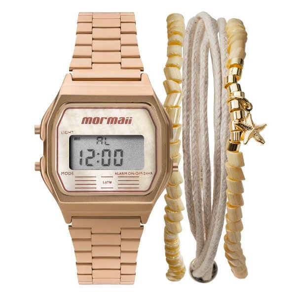 Relógio Mormaii Digital Rose MOJH02ATK4J Unissex