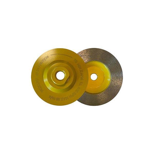 Copo Diamantado de Desbaste continuo 95 x M14 Grao 60 Amarelo