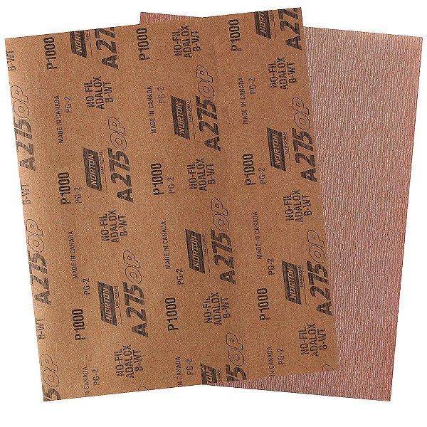 Folha de Lixa A275 Grão 1000 230 x 280 mm