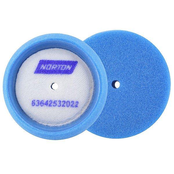 Caixa com 10 Boina de Espuma Azul Nº 2 Liquid Ice 76 mm
