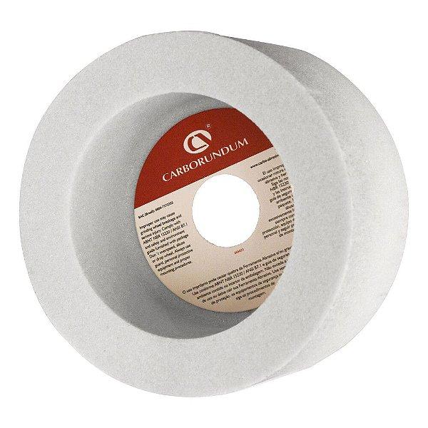 Rebolo Copo Reto Aços de Alta Dureza - Branco 6A-AA46 K8V40W - 152,4 x 76,20 x 31,75 mm