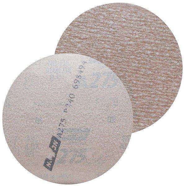 Disco de Lixa Pluma A275 Sem Furo Grão 240 - 127 mm