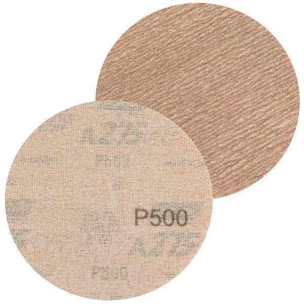 Disco de Lixa Pluma A275 Sem Furo Grão 500 - 127 mm