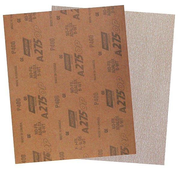 Folha de Lixa A275 Grão 400 - 230 x 280 mm