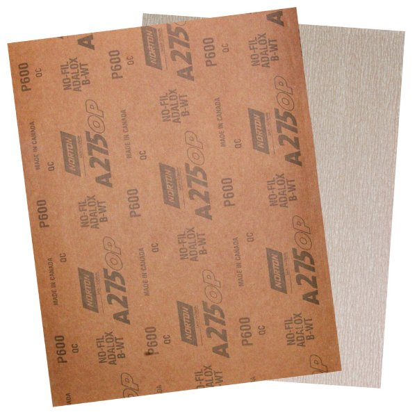 Folha de Lixa A275 Grão 600 - 230 x 280 mm