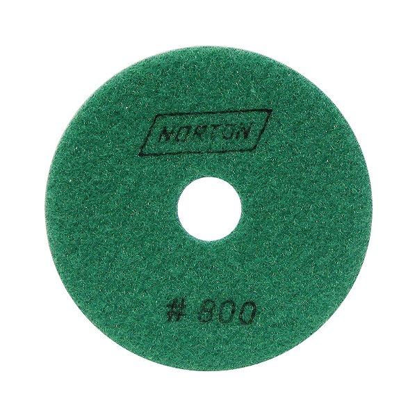 Disco de Lixa Diamantada Flexível Brilho D'Água Grão 800 - 100 x 20 mm