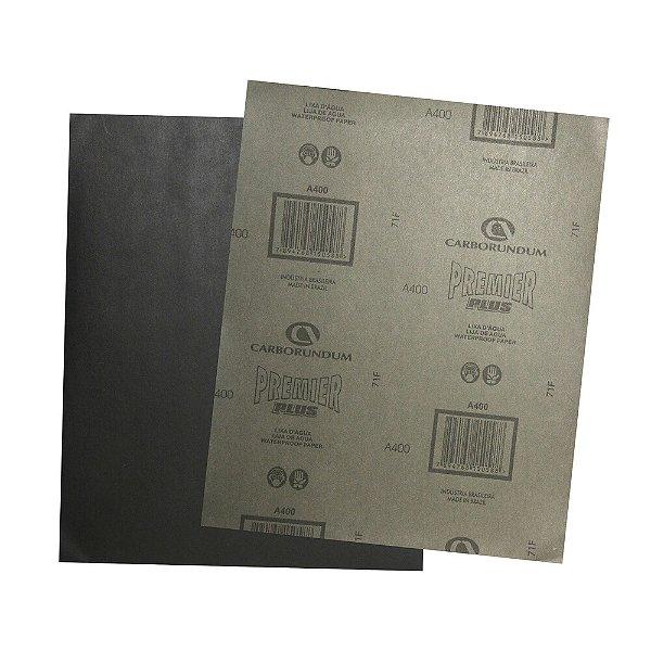 Folha de Lixa D'Água CAR87 Grão 400 - 230 x 280 mm