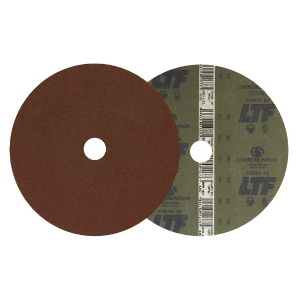 Disco de Lixa Fibra CAR55 Grão 100 180 x 22 mm