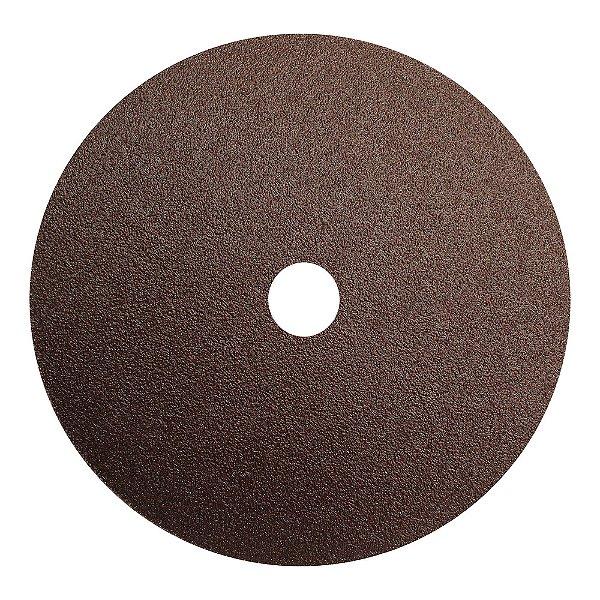 Disco de Lixa Fibra CAR55 Grão 60 180 x 22 mm