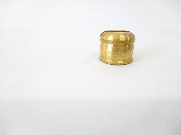 Botão para Facas - Latão Modelo 3 - 22 mm