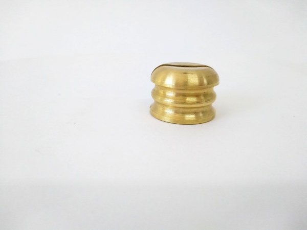 Botão para Facas - Latão Modelo 12 - 25 mm