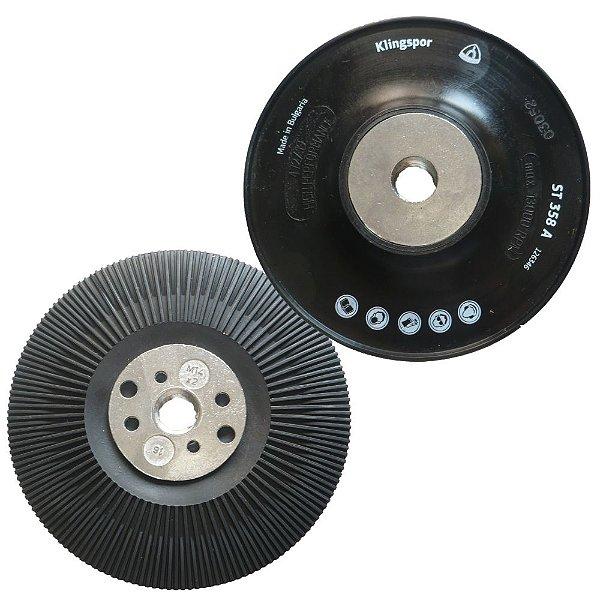 Suporte Disco de Lixa 115 mm Rosca M14