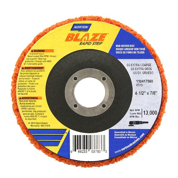 Disco de Remoção Rapid Strip Blaze 115 x 22 mm