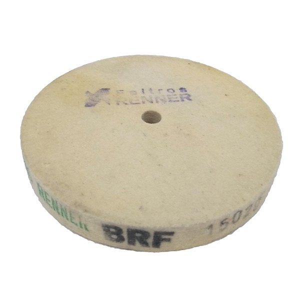 Disco de Polimento Compactado Feltro Puro - 150 mm