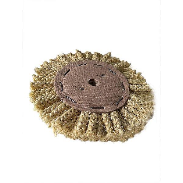 Disco de Polimento Ventilado Sisal Trançada - 150 mm
