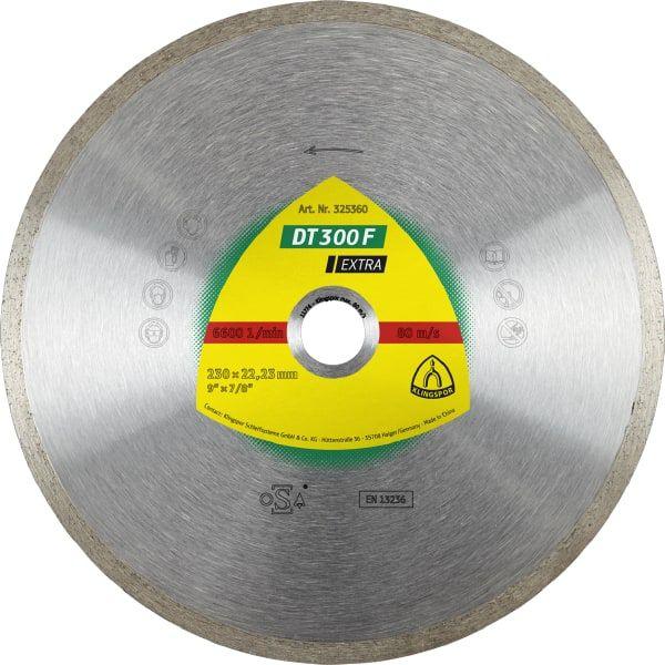 Disco de Corte Klingspor Contínuo Diamantado 200 x 25,4 mm