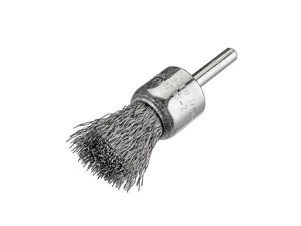 Escova Pincel Ondulada - Aço 25 x 6 mm