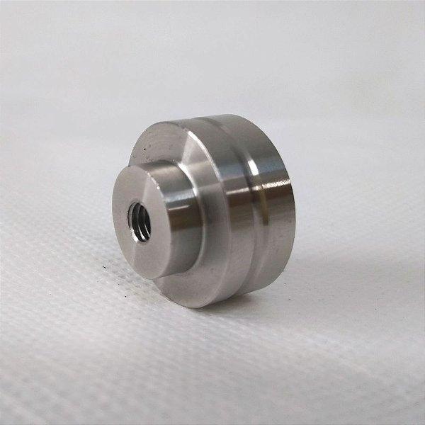 Pomo para Facas - Inox Modelo 3 - 25 mm Rosca M6