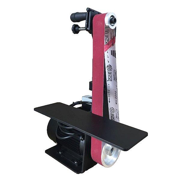 Lixadeira para Cutelaria com Motor Elétrico e Mesa de 40 cm - 50 x 1200 mm
