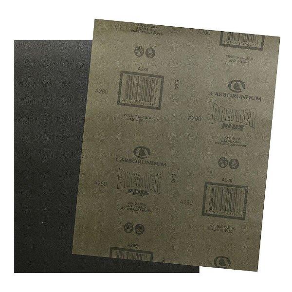 Folha de Lixa D'Água CAR87 Grão 280 - 230 x 280 mm
