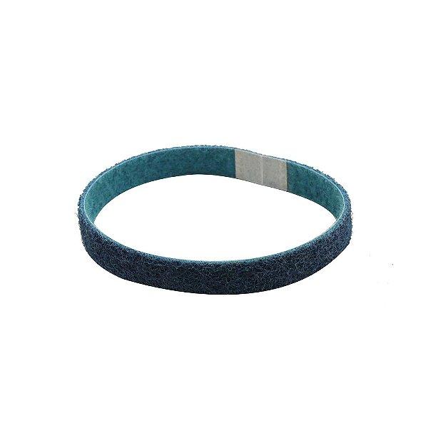 Caixa com 12 Cinta de Lixa Bear-Tex AO/VF Muito Fino (Azul) 19 x 457 mm