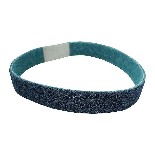 Caixa com 12 Cinta de Lixa Bear-Tex AO/VF Muito Fino (Azul) 25 x 457 mm