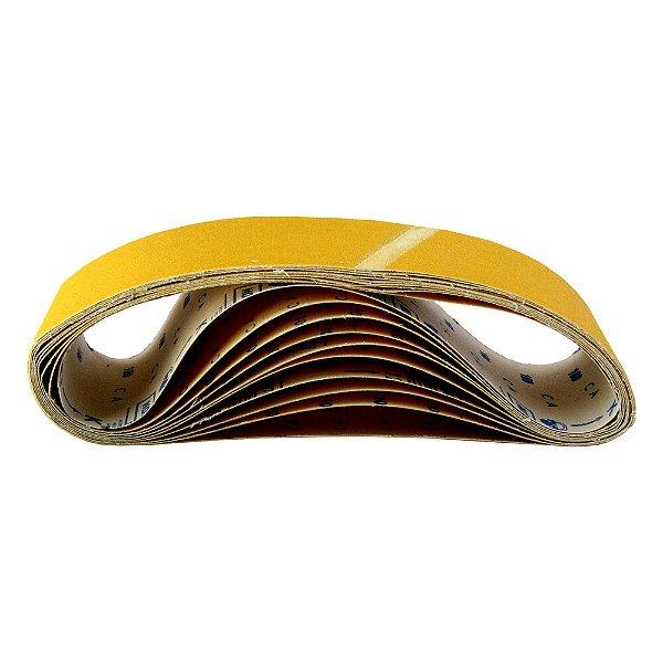 Caixa com 50 Cintas de Lixa Estreita Adalox Pano K121 Grão 100 610 x 75 mm