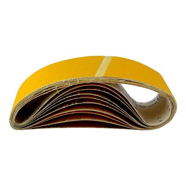 Caixa com 5 Cinta de Lixa Estreita Adalox Pano K121 Grão 80 533 x 75 mm