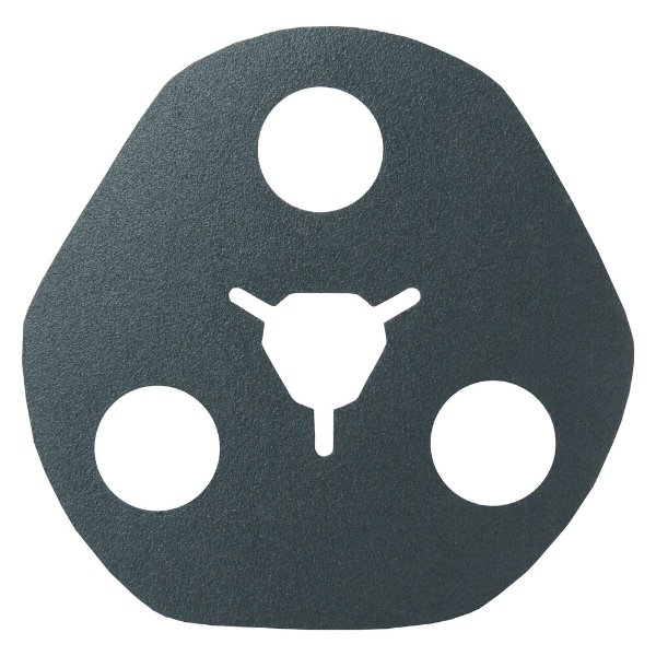 Disco de Avos Fibra F828 Grão 120 115 x 22 x 3 mm Caixa com 100