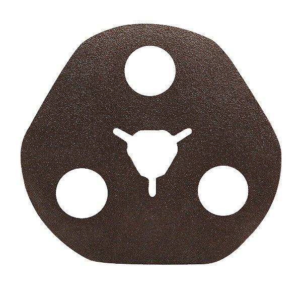 Disco de Avos Fibra Metalite F227 Grão 100 115 x 22 mm Caixa com 100