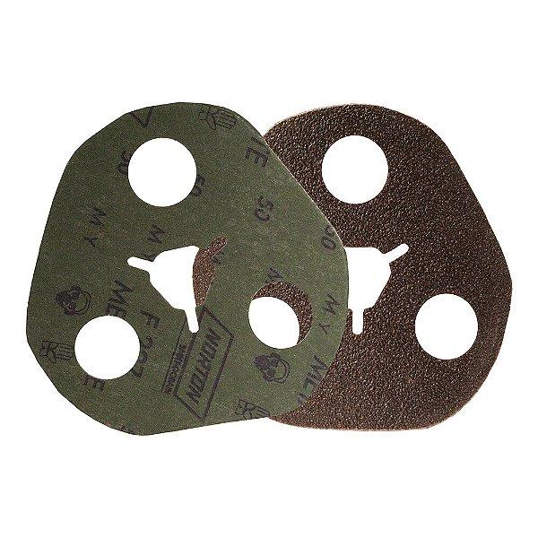Caixa com 100 Disco de Avos Fibra Metalite F227 Grão 50 115 x 22 mm