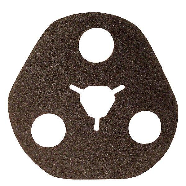 Caixa com 100 Disco de Avos Fibra Metalite F227 Grão 80 115 x 22 mm