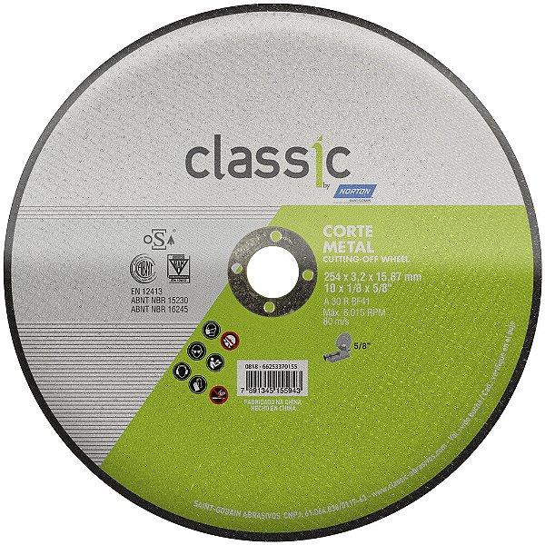 Disco de Corte Classic Basic AR302 254 x 3,2 x 15,87 mm Caixa com 10