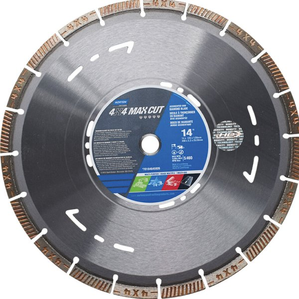 Caixa com 1 Disco de Corte Clipper Diamantado iHD 4x4 Explorer 350 x 25,40 mm