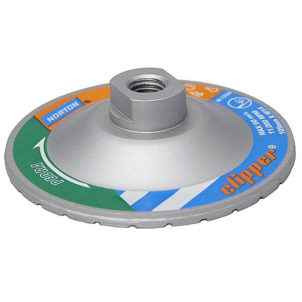 Disco de Desbaste Diamantado Clipper Pedra 105 x M14 Caixa com 1