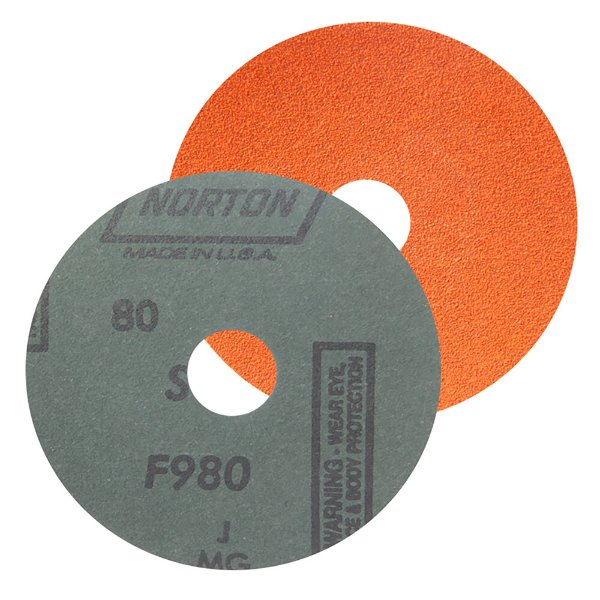 Caixa com 25 Disco de Lixa Fibra Blaze F980 Grão 80 115 x 22 mm