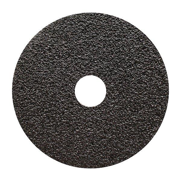 Disco de Lixa Fibra CAR52 Grão 24 115 x 22 mm Caixa com 50