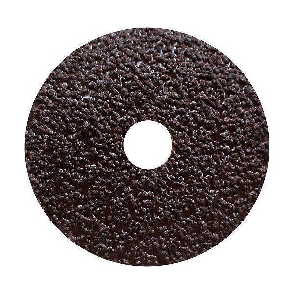 Caixa com 5 Disco de Lixa Fibra CAR55 Grão 16 115 x 22 mm