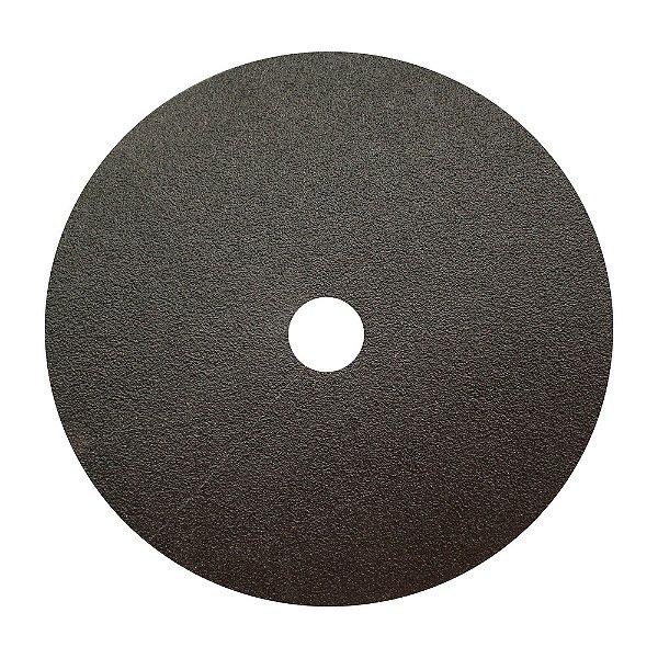 Caixa com 100 Disco de Lixa Fibra Durite F425 Grão 60 180 x 22 mm