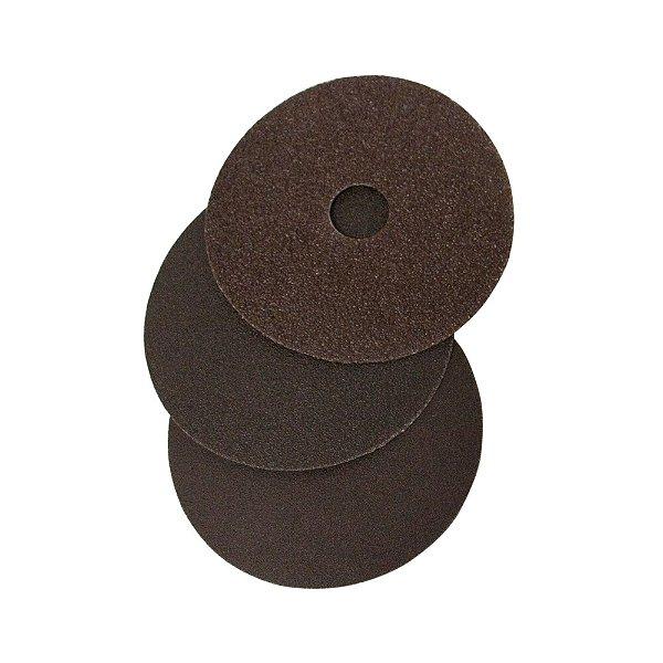 Caixa com 50 Discos de Lixa Fibra Metalite F224 Grão 24 115 x 22 mm