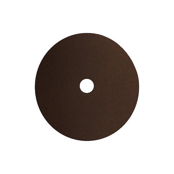 Caixa com 100 Disco de Lixa Fibra Metalite F227 Grão 120 180 x 22 mm