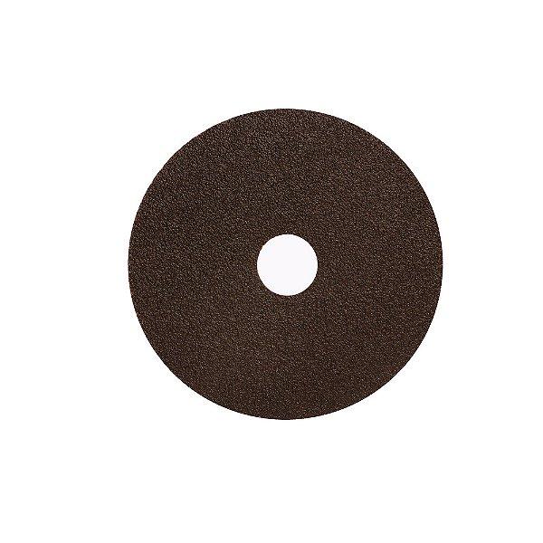 Disco de Lixa Fibra Metalite F227 Grão 50 115 x 22 mm Caixa com 100