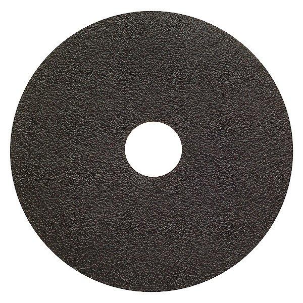 Disco de Lixa Fibra Metalite F227 Grão 60 115 x 22 mm Caixa com 100