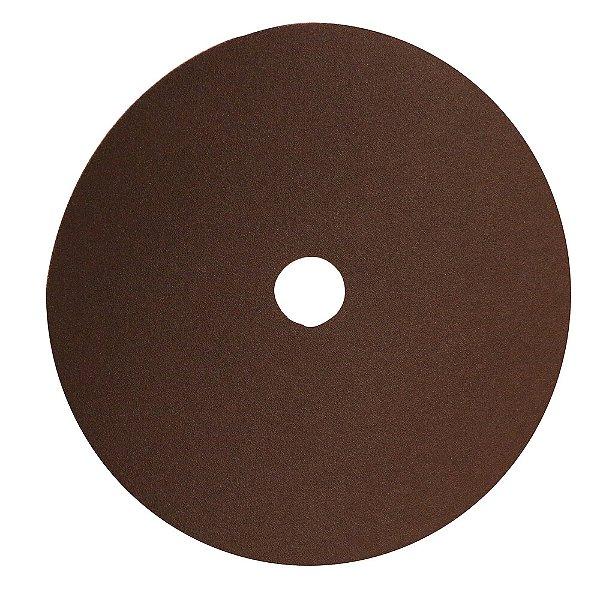 Caixa com 100 Disco de Lixa Fibra Metalite F247 Grão 100 180 x 22 mm